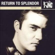 Return to Splendor - CD Audio di King
