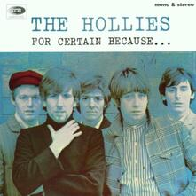 For Certain Because - CD Audio di Hollies