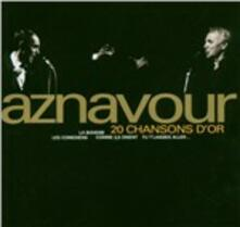 20 Chansons d'or - CD Audio di Charles Aznavour