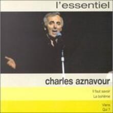 L'essentiel - CD Audio di Charles Aznavour