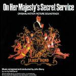 Cover CD Colonna sonora Agente 007 - Al servizio segreto di sua maestà
