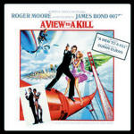 Cover della colonna sonora del film 007 - Bersaglio Mobile