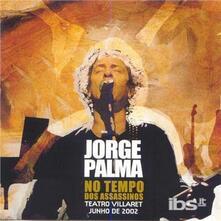 No Tempo Dos Assassinos: Teatro Villare - CD Audio di Jorge Palma