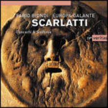 Concerti grossi - CD Audio di Alessandro Scarlatti,Fabio Biondi,Europa Galante