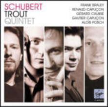 "Quintetto con pianoforte ""La trota"" - CD Audio di Franz Schubert,Renaud Capuçon,Gautier Capuçon,Gerard Caussé,Frank Braley,Alois Posch"