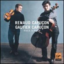 Face à Face - CD Audio di Renaud Capuçon,Gautier Capuçon