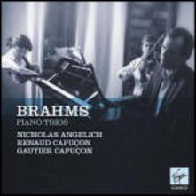 Trii con pianoforte n.1, n.2, n.3 - CD Audio di Johannes Brahms,Martha Argerich,Renaud Capuçon,Gautier Capuçon