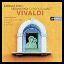 Mottetti - CD Audio di Antonio Vivaldi,Fabio Biondi,Patrizia Ciofi,Europa Galante