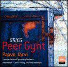 Peer Gynt - CD Audio di Edvard Grieg,Paavo Järvi,Estonian National Symphony Orchestra