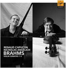 Sonate per violino n.1, n.2, n.3 - CD Audio di Johannes Brahms,Renaud Capuçon,Nicholas Angelich