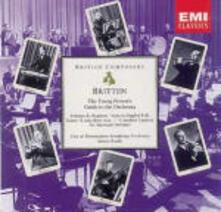 Guida del giovane all'orchestra - CD Audio di Benjamin Britten,Simon Rattle,City of Birmingham Symphony Orchestra