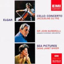 Concerto per violoncello - Sea Pictures - CD Audio di Edward Elgar,Jacqueline du Pré,Dame Janet Baker,Sir John Barbirolli,London Symphony Orchestra