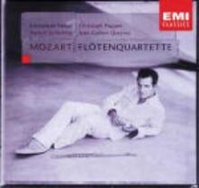 Quartetti con flauto - CD Audio di Wolfgang Amadeus Mozart,Emmanuel Pahud