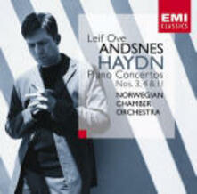 Concerti per pianoforte n.3, n.4, n.11 - CD Audio di Franz Joseph Haydn,Leif Ove Andsnes