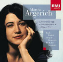 Live from the Concertgebouw 1978-'79 - CD Audio di Martha Argerich