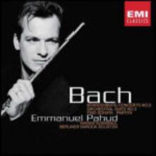 Concerto brandeburghese n.5 - Suite per orchestra n.2 - Sonata a tre - CD Audio di Johann Sebastian Bach,Emmanuel Pahud