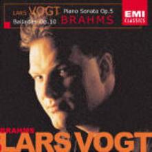 Sonata per pianoforte n.3 - Ballate op.10 - CD Audio di Johannes Brahms,Lars Vogt