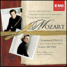 Concerto per flauto n.1 - Concerto per flauto e arpa - Concerto per clarinetto - CD Audio di Wolfgang Amadeus Mozart,Sabine Meyer,Claudio Abbado,Berliner Philharmoniker,Emmanuel Pahud