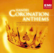 Coronation Anthems - Ode for the Birthday of Queen Anne - CD Audio di King's College Choir,Georg Friedrich Händel,Academy of St. Martin in the Fields,Stephen Cleobury