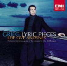 Pezzi lirici - CD Audio di Edvard Grieg,Leif Ove Andsnes