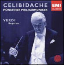 Messa da Requiem - CD Audio di Giuseppe Verdi,Sergiu Celibidache