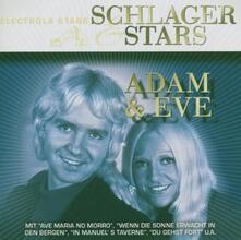 Schlager & Stars - CD Audio di Adam & Eve