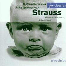 Sinfonia Domestica - CD Audio di Richard Strauss,Edo de Waart