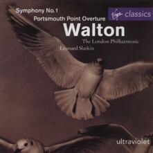 Sinfonia n.1 - CD Audio di William Walton,Leonard Slatkin