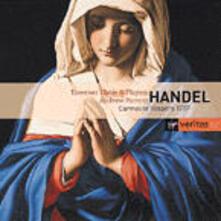 Carmelite Vespers (Serie Veritas) - CD Audio di Andrew Parrott,Georg Friedrich Händel,Taverner Consort,Taverner Players