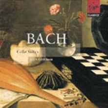 Suites per violoncello - CD Audio di Johann Sebastian Bach,Ralph Kirshbaum