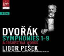 Sinfonie complete - Opere per orchestra - CD Audio di Antonin Dvorak,Libor Pesek