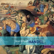 Israele in Egitto (Israel in Egypt) (Serie Veritas) - CD Audio di Andrew Parrott,Georg Friedrich Händel,Taverner Consort,Taverner Players