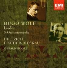 Lieder - CD Audio di Hugo Wolf,Dietrich Fischer-Dieskau