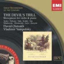 Il trillo del Diavolo: Pezzi per violino e pianoforte - CD Audio di David Oistrakh