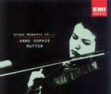 Great Moments of - CD Audio di Anne-Sophie Mutter