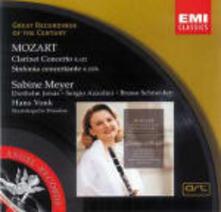 Concerto per clarinetto - Sinfonia concertante K297b (Serie Original) - CD Audio di Wolfgang Amadeus Mozart,Sabine Meyer,Staatskapelle Dresda,Hans Vonk