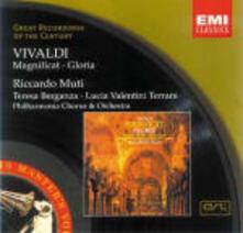 Magnificat - Gloria - CD Audio di Antonio Vivaldi,Teresa Berganza,Lucia Valentini Terrani,Riccardo Muti,New Philharmonia Orchestra