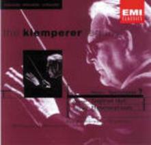Sinfonia n.9 / Idillio di Sigfrido (Siegfried-Idyll) / Metamorphosen - CD Audio di Gustav Mahler,Richard Strauss,Richard Wagner,Otto Klemperer
