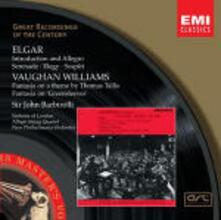 English String Music - CD Audio di Edward Elgar,Ralph Vaughan Williams,Sir John Barbirolli,New Philharmonia Orchestra,Allegri String Quartet
