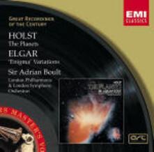 Variazioni Enigma / I pianeti (The Planets) - CD Audio di Edward Elgar,Gustav Holst,Sir Adrian Boult,London Philharmonic Orchestra,London Symphony Orchestra