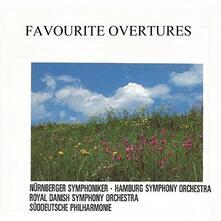 Favourite Overtures - CD Audio