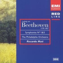 Sinfonie n.1, n.5 - CD Audio di Ludwig van Beethoven