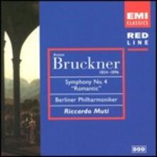 Sinfonia n.4 - CD Audio di Anton Bruckner,Berliner Philharmoniker,Riccardo Muti