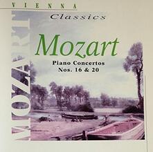Concerti per Pianoforte n.16, n.20 - CD Audio di Wolfgang Amadeus Mozart