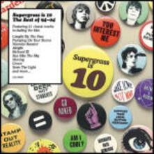 Supergrass is 10: The Best of Supergrass - CD Audio di Supergrass