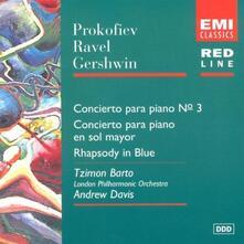 Concerto per Pianoforte n.3 - CD Audio di Sergej Sergeevic Prokofiev,Andrew Davis,Tzimon Barto