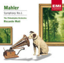 Sinfonia n.1 - CD Audio di Gustav Mahler,Riccardo Muti,Philadelphia Orchestra