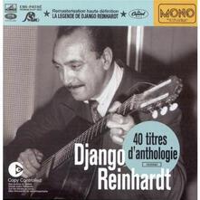 40 Titres D'anthologie - CD Audio di Django Reinhardt