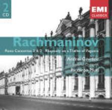 Concerti per pianoforte n.2, n.3 - CD Audio di Sergej Vasilevich Rachmaninov,Riccardo Muti,Andrei Gavrilov