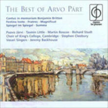Best of - CD Audio di Arvo Pärt